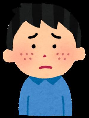 顔の乾燥で悩んでいる人